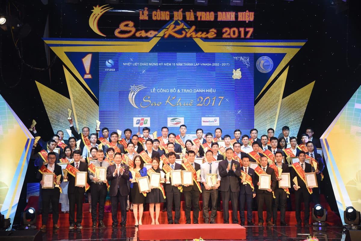 2017年度のSao Khue賞を受賞する会社