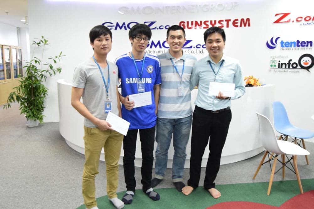 Các bạn đạt giải tại MPC tháng 3/2017
