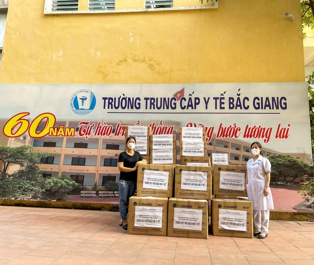 """Hành trình tiếp lửa chống COVID-19 """"Get stronger Bắc Giang"""" 1"""
